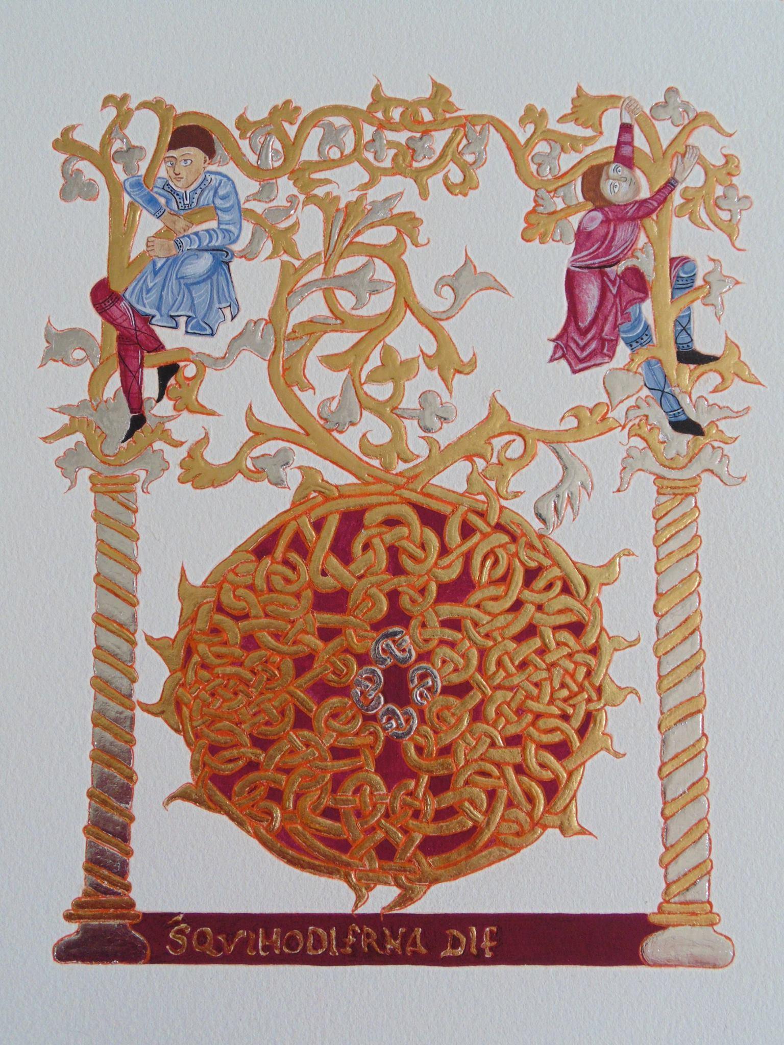 Tanael 2014 sacramentaire Fleury IXe
