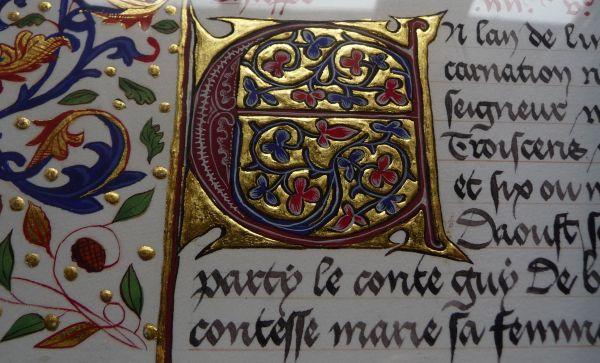 Lettrines Moyen Age à Imprimer