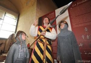 Atelier armement et guerre au XIIe siècle - Aisling-1198 au Château de Falaise