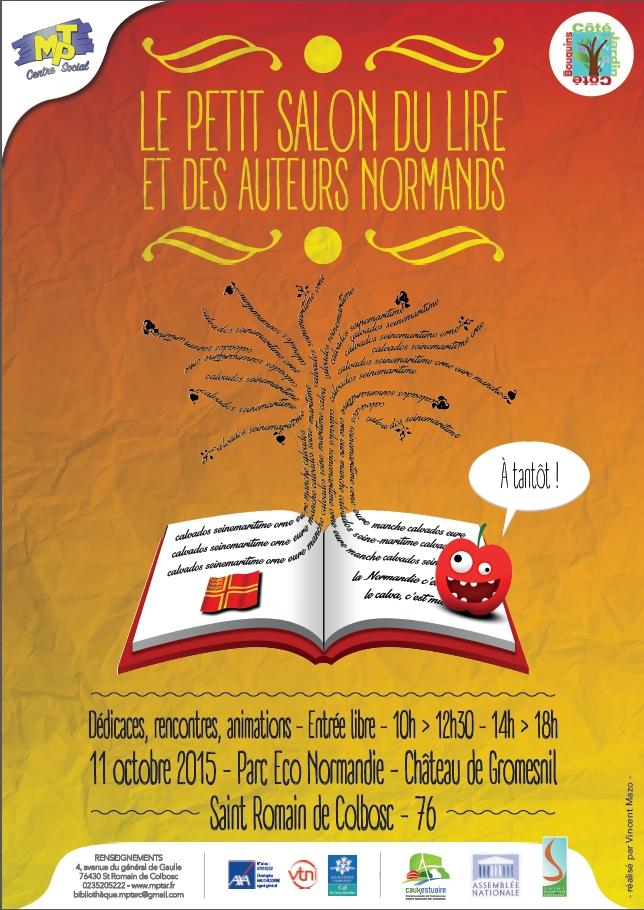 affiche salon du lire 2015