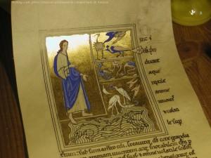 Bestiaire d'Ashmole, la Genèse par Dame Maëlle