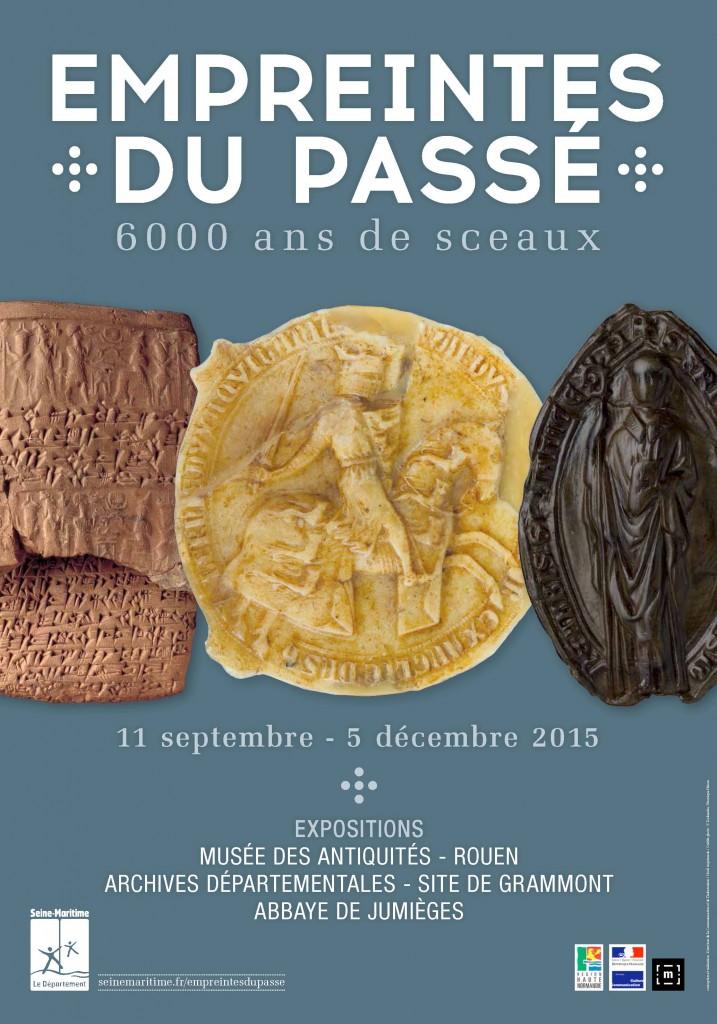 affiche Empreintes du passé 6000 ans de sceaux