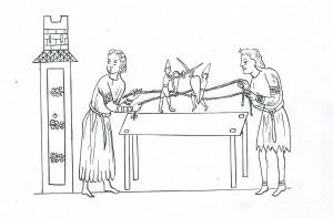 marionnettes hortus-D Maelle